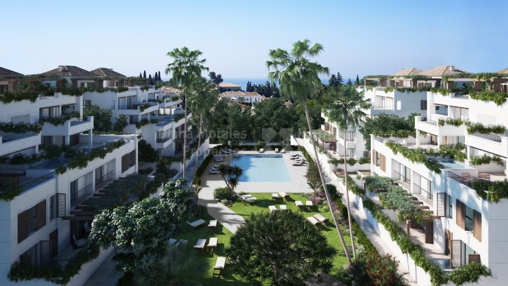 Nice apartment on two levels in prestigious área - Ground Floor Duplex for sale in Las Lomas del Marbella Club, Marbella Golden Mile