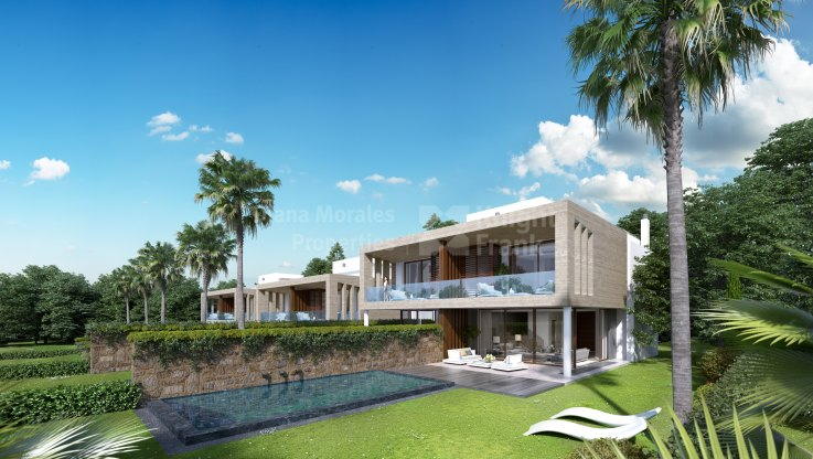 Marbella Golden Mile, Villa detached in a gated complex