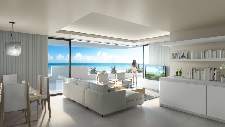 New Golden Mile, Fabulous apartment facing the sea