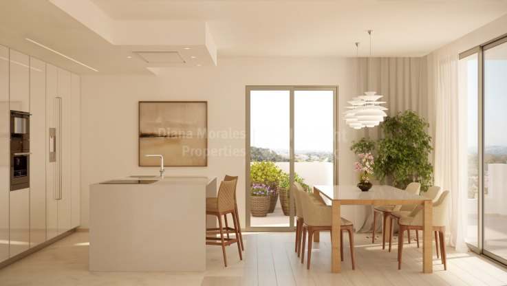 Ground floor apartment with private garden next to the Turtle Lake - Ground Floor Apartment for sale in Nueva Andalucia
