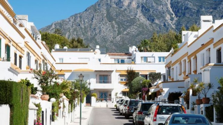 Marbella Centro, Quiet Beachside Townhouse