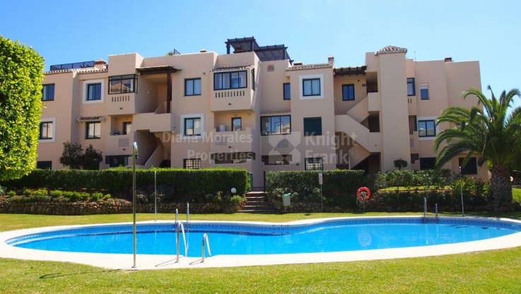 Santa Maria, Ground floor apartment in Elviria
