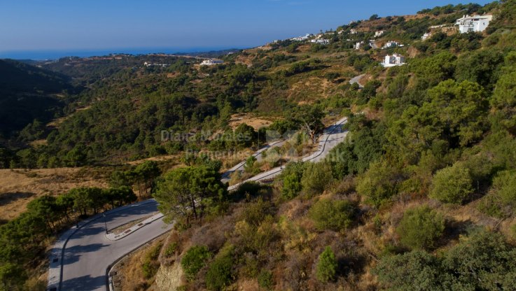 Plot With Sea and Mountain Views - Plot for sale in Monte Mayor, Benahavis