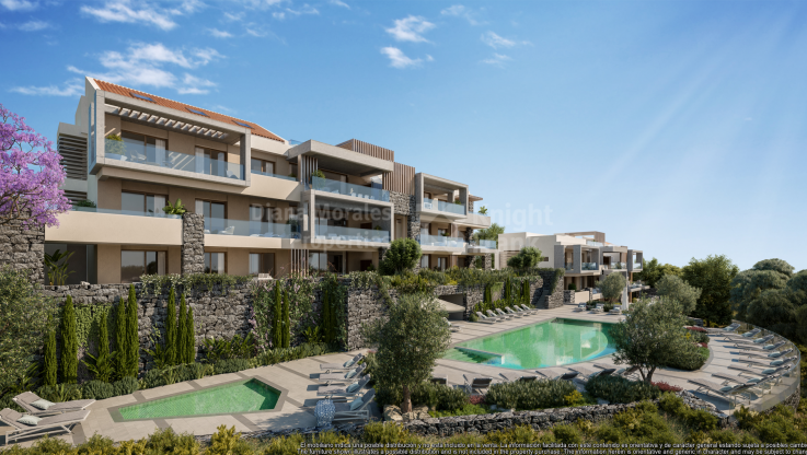 Duplex penthouse in golf area - Penthouse for sale in La Quinta, Benahavis