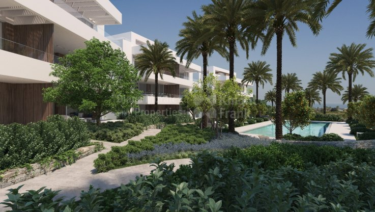 Penthouse duplex under construction apartment in Benahavis - Duplex Penthouse for sale in Benahavis