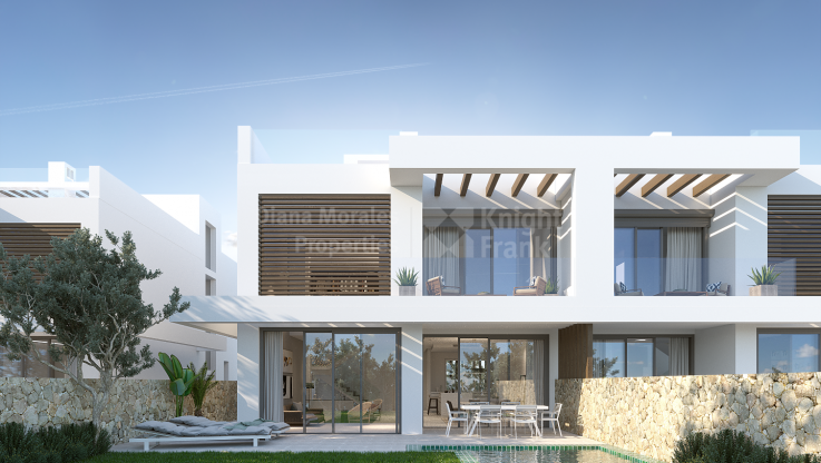 Marbella East, Luxury 6 semidetached villas in Cabopino Golf