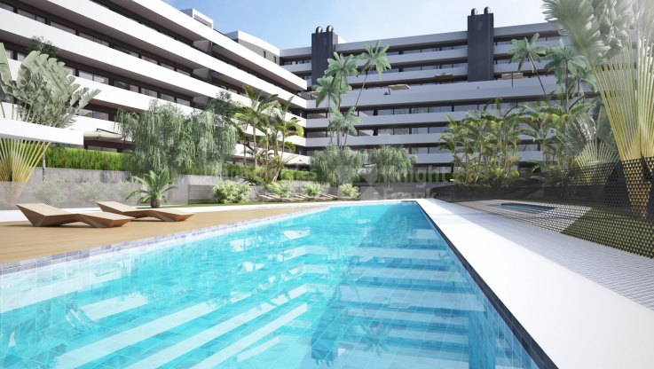 Flats in the heart of Estepona