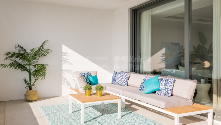 Beautiful ground floor apartment with small private garden - Ground Floor Apartment for sale in Cancelada, Estepona