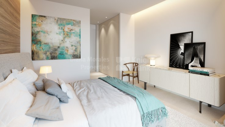 Ground Floor with private garden and fantastic views - Ground Floor Apartment for sale in Benahavis