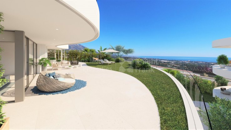 Benahavis, Unique residences with 2, 3 or 4 bedrooms and amazing views