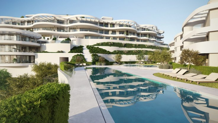 Beautiful duplex penthouse under construction with fantastic views - Duplex Penthouse for sale in Benahavis
