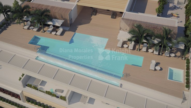 Exclusivity and design facing the sea - Apartment for sale in Estepona