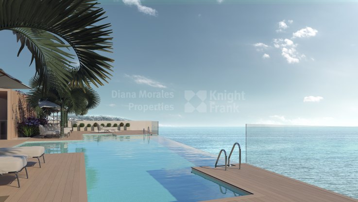 Contemporary design facing the sea - Apartment for sale in Estepona