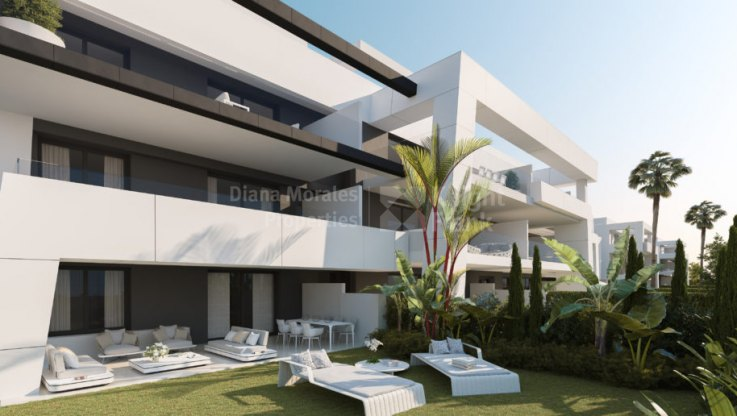 Ground floor with private garden - Ground Floor Apartment for sale in Selwo, Estepona