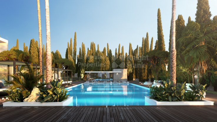 Le Blanc , Golden Mile gated complex of 22 semi-detached villas