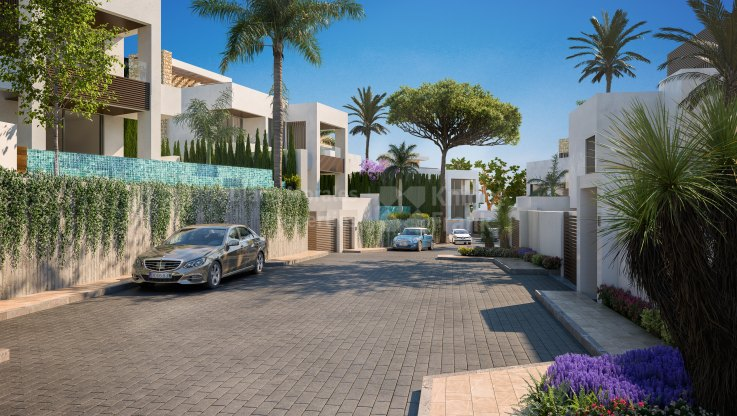 Modern villa in gated community with security - Villa for sale in Marbella Centro, Marbella city