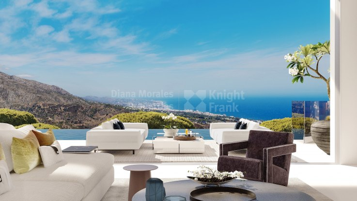 Design and panoramic views - Villa for sale in Real de La Quinta, Benahavis