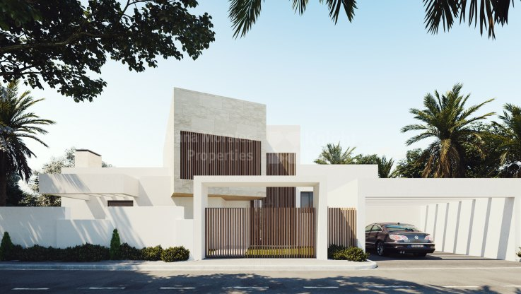 Modern villa in gated community - Villa for sale in Mirador del Paraiso, Benahavis
