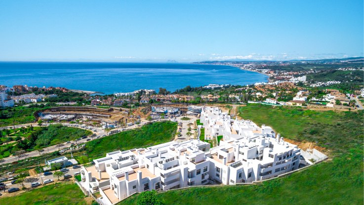 Contemporary style with views in Estepona city