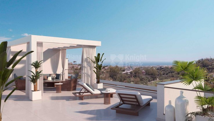 Amazing views from Las Colinas de Marbella
