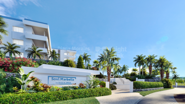 Ground floor apartment with private garden - Ground Floor Apartment for sale in Santa Clara, Marbella East