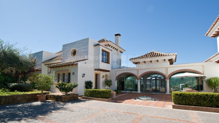 Outstanding Estate In Exclusive Community Of La Zagaleta - Villa for sale in La Zagaleta, Benahavis