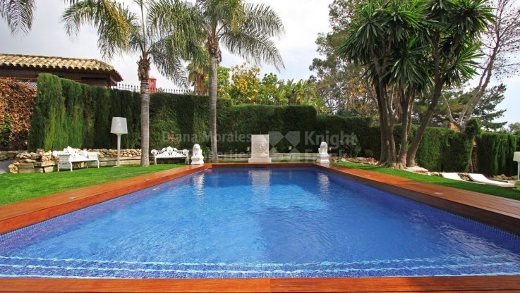 Impressive Villa in Marbella East - Villa for rent in Hacienda las Chapas, Marbella East