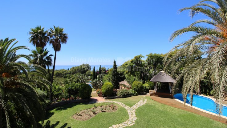 Location and Views - Villa for sale in Sierra Blanca, Marbella Golden Mile