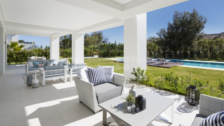 Fantastic villa -unique location - Villa for sale in Sierra Blanca, Marbella Golden Mile
