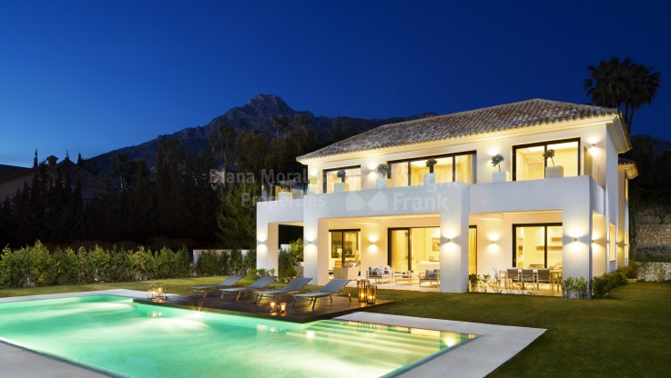 Fantastic Villa In Prime Location - Villa for sale in Sierra Blanca, Marbella Golden Mile