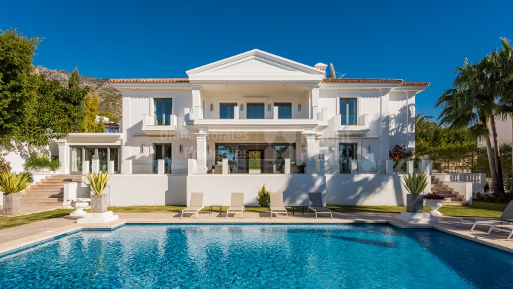 Elegant villa for rent in Sierra Blanca
