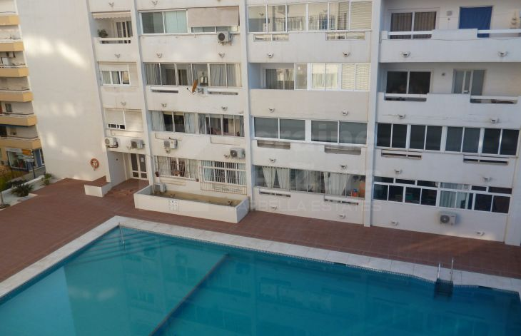 Apartment with garage in Marbella center