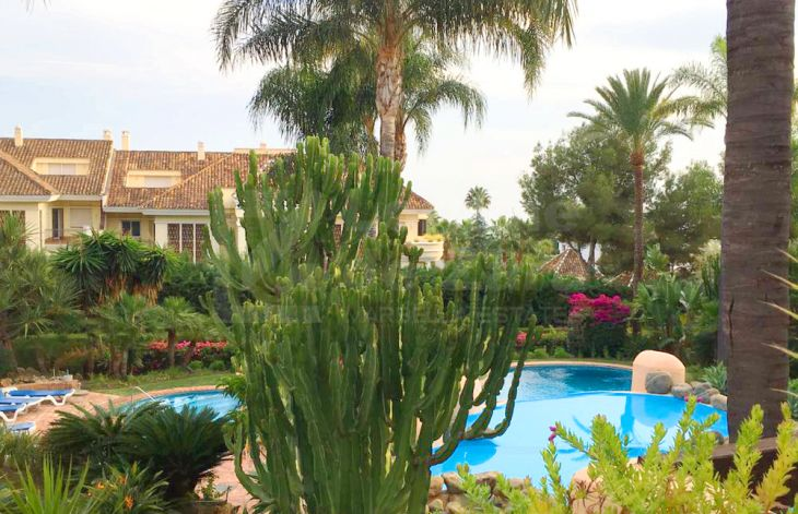 Spacious apartment in Sierra Blanca, Marbella