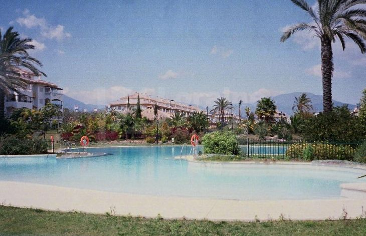 Wonderful apartment in Marbella next to the golf course