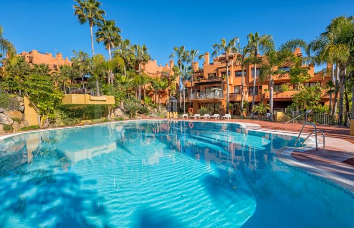 Luxurious apartment complex in Marbella