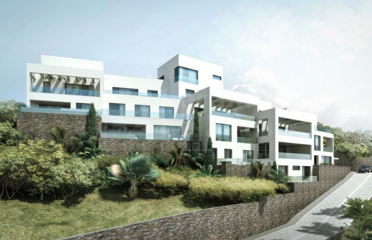 Development of apartments in Los Altos de Los Monteros, Marbella
