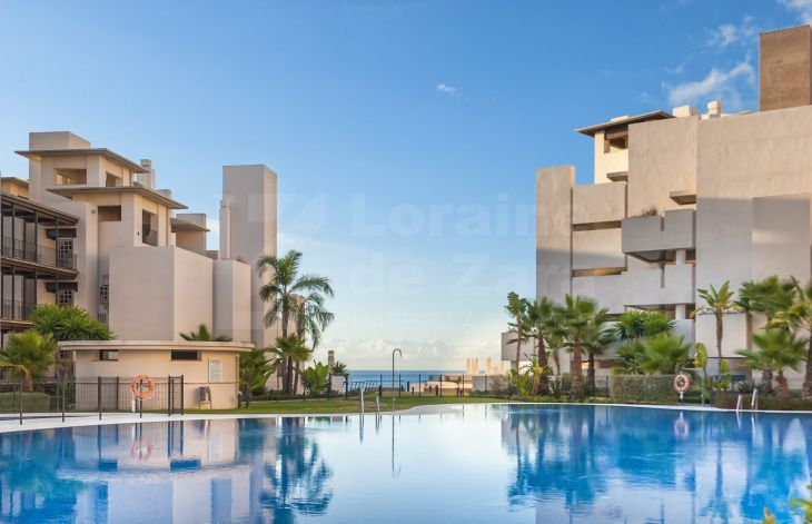 Luxurious development on the beachfront in Estepona
