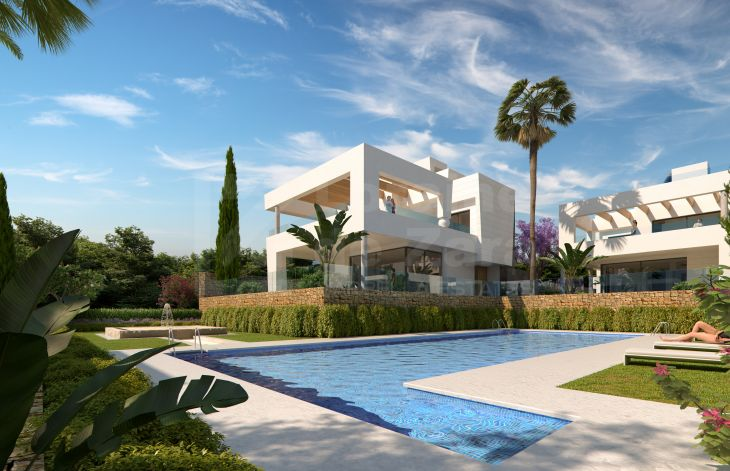 Luxurious residential complex of villas in San Pedro de Alcántara, Marbella.