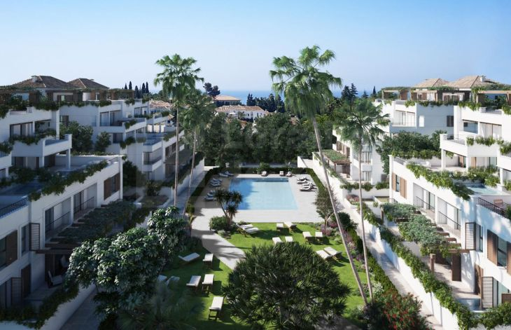 Luxury development of apartments and penthouses in the Golden Mile of Marbella
