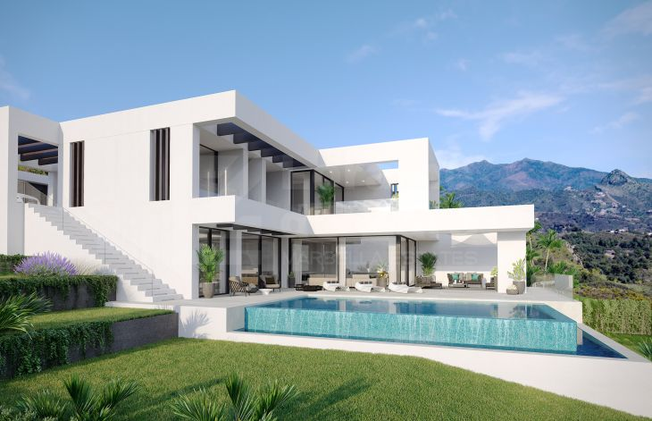 Stunning residential complex of luxury villas on the New Golden Mile in Estepona