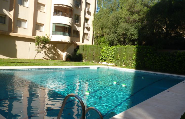 Completely renovated apartment in Marbella center.