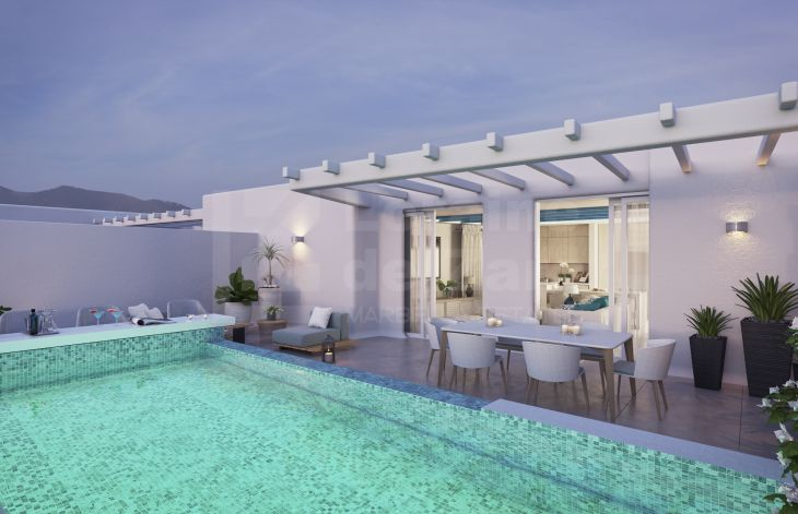 Wonderful duplex penthouse of new construction in the Old Town of Marbella