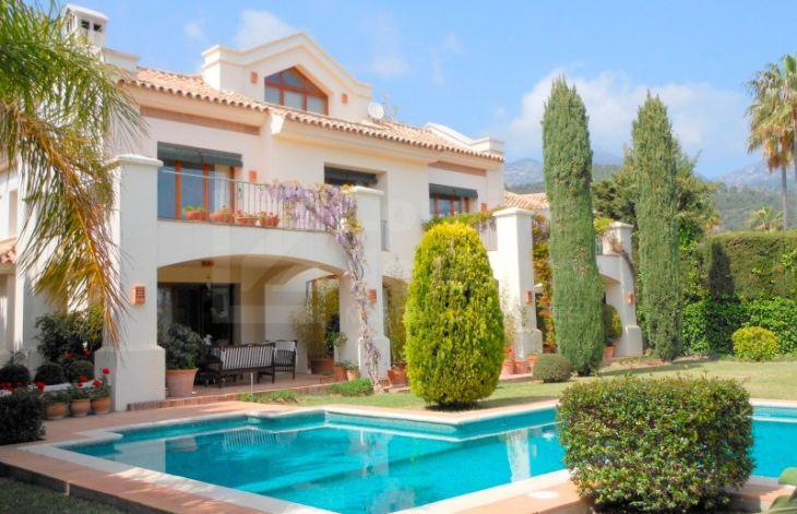 Villa In Balcones De Sierra Blanca Marbella Golden Mile