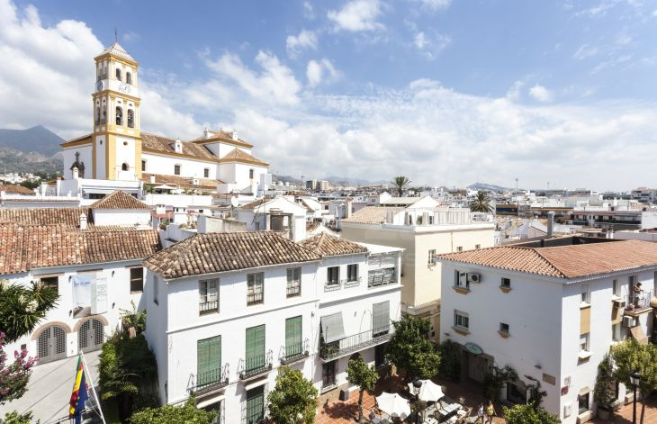 Spectacular duplex penthouse in the old town of Marbella