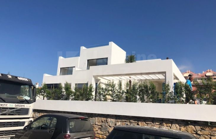 Brand new house in Marbella town.