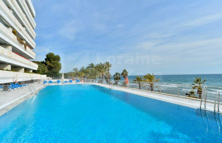 Great apartment on the beachfront on the promenade of Marbella