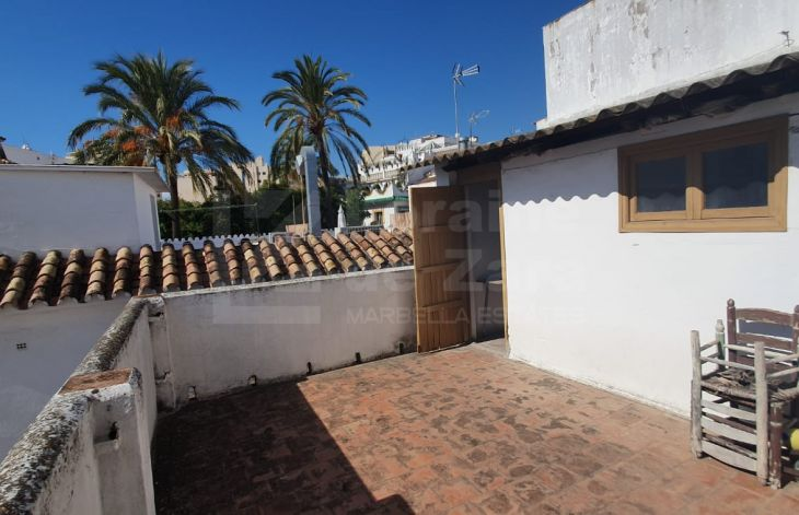 Fantastic townhouse to be renovated in the Old Town of Marbella