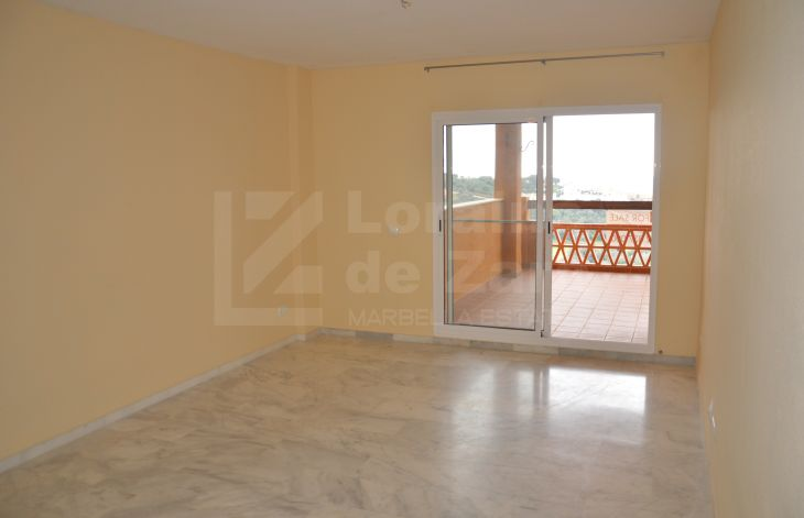 Two bedroom apartment with garage in Las Chapas, Marbella
