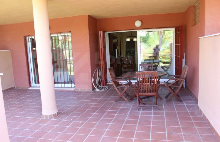 Two bedroom ground floor apartment in Las Chapas, Marbella