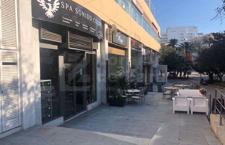 Large premises located in the center of Marbella